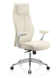 Executive white leather Chair