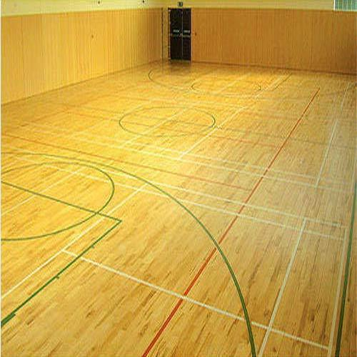 Sports Flooring Maple Wood Sports Flooring Manufacturer From Mumbai
