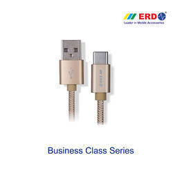 PC 65 Gold Type C (Metal Case Braided Cable)