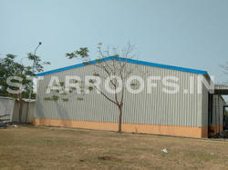 Metal roofing shed chennai