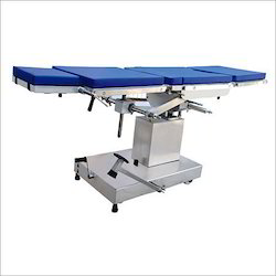 Side End Control Hydraulic O.T. Table