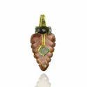 Pave Diamond Tourmaline Pendant