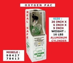 Life Oxygen Pac Breathing Apparatus