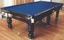 Pool Table In Black Polish
