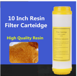 Steam Unit Water Softener Resin Filter Cartridge