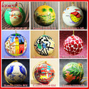 Christmas Balls Bauble Hand Painted Decoration Ornaments