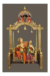 Traditional gift articles radha krishna jhoola big wholesale radha krishna jhoola big negle Image collections