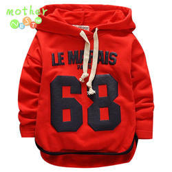 Kids Full Sleeves Hooded T - Shirts
