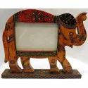 Wooden Elephant Show Piece