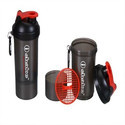 iShake vault 2 in 1 soot red Shaker Bottles (600 ml)