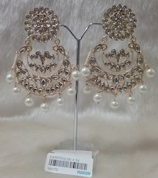 Antique Traditional Kundan Designer Earrings