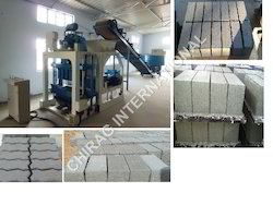 Ash Bricks Making Machine