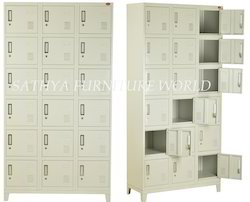 Industrial Locker 18 Doors  sc 1 st  Sathya Corporation & Employees Personal Lockers - Industrial Locker 18 Doors Manufacturer ...