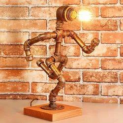 Pipe Art Table Lamp