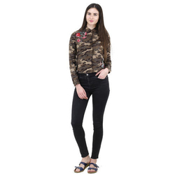 d03d97a81 Belissima Ladies Army Print Shirt, Rs 750 /piece Belissima Design Studio |  ID: 17684305697