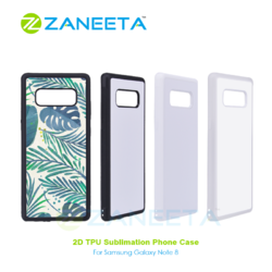 2D Sublimation TPU Rubber Mobile Cover For Samsung