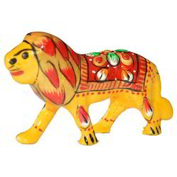 Meena Decorative Lion Sculpture