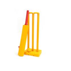Plastic Cricket Bat and Ball