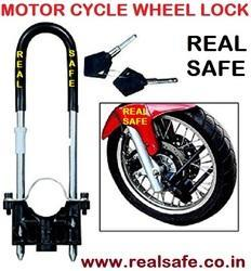 Motor Cycle Wheel Lock
