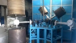 Three Arm Biaxial Roto Moulding Machine