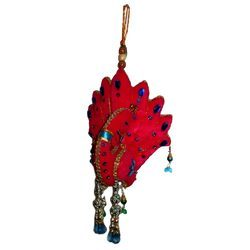 Cloth Peacock Hanging