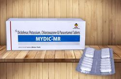Diclofenac Pot. 50mg  Chlorzoxazone 250mg PCM 325MG
