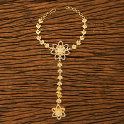 Gold Plated Handmade Floral Style Hath Pan 61299