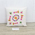 Bulk Cushion Covers Woolen Embroidery