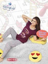 Long Pajama T- Shirt Night Dress