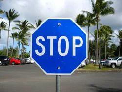 Retro Reflective Traffic Signboard