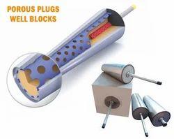 Porous Plug Well Block