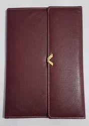 Hawk - I Faux Leather Conference Folder FS 131 ( 3 Fold )