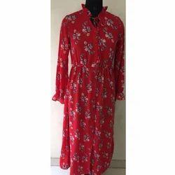 Ladies Floral Gown