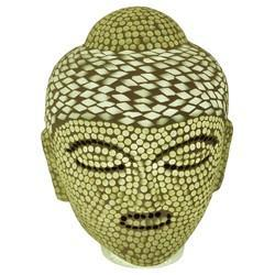 Glass Decorative Lamp With Buddha Shape
