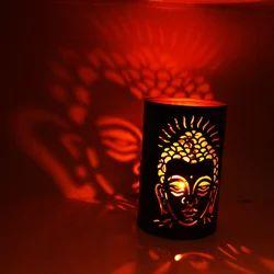 Iron Buddha T-Light Candle