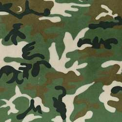 Chemical Repellent Camouflage Fabrics
