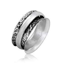 Huge Modern Style 925 Sterling Silver Ring