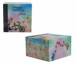 Custom Design MDF Wood Box