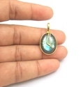 Gemstone Labradorite Pendants