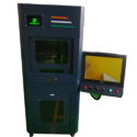Close Body Fiber Laser Marking Machine