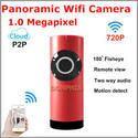 Panoramic Wifi  Fisheye Camera P2p