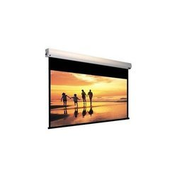Motorized Projection Screen with Remote Control