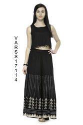 Skirt Type Rayon Palazzos