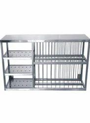 Plate and Glass Rack