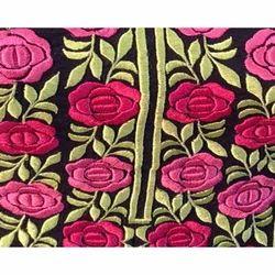 Resham Border Machine Embroidery Work