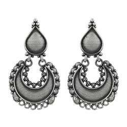 Pretty 925 Sterling Silver Earrings