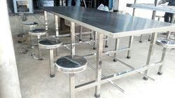 SS Catering Buffet Dining Table