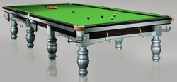 Snooker Table In 21 Balls Steel Block Cushion