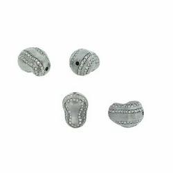 Uneven Shaped Diamond Matte Beads
