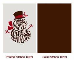 Christmas Kitchen Towel Joy Love Peace